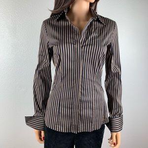 PINK Thomas Pink ladies button down dress shirt 8.